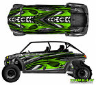Polaris 4 RZR 800 xp Design Geneses Decal Graphic Kit Wraps Hood Scoop