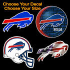 "5"" Buffalo Bills Football U CHOOSE Car Truck Window Wall Decal Sticker"