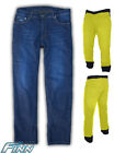 Ladies Blue Motorcycle Jeans Full Lined w/ Knitted Kevlar® +CE Armour Finn Moto