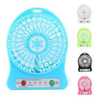Portable Handheld Rechargeable Desk Pocket Cooler Mini Fan 18650 Battery