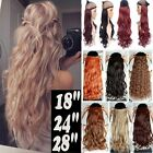 100% Deluxe Hair Extension Clip in Natural Hair Extensions Curly Straight hn31