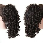 20 Inch Thick Claw Pony Tail Ponytail Clip In On Hair Extension Wavy Curly Style