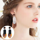 Lady Girl Fashion Jewelry Boho Style Acrylic Ear Dangle Drop Stud Earrings Gift