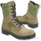 GENUINE ISSUE DUTCH ARMY PATROL BOOT COMBAT PARA OLIVE GREEN MTP COMBAT SUEDE
