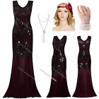 1920s Flapper Dress Costume Roaring Long Prom Gatsby Fancy Party Outfit Dress