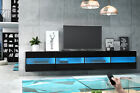 TV Stand Cabinet Unit Lowboard Entertainment  ADELE DOUBLE + FREE LED Lighting