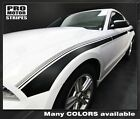 Ford Mustang 2013-2014 Javelin Side Accent Strobe Stripes Decals (Choose Color)