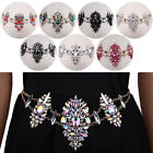 Pretty Silver Gold Rhinestone Crystal Gem Belt Waist Belly Body Chain Jewelry