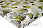 WIPE CLEAN FLORAL LIME WHISPER PVC TABLECLOTH VINYL OILCLOTH FABRIC