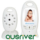 Wireless 2.4 GHZ Digital Video Baby Monitor Night Vision Temperature Monitoring