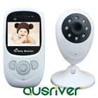 NEW 2.4 Inch TFT LCD Wireless Digital video Baby Monitor Night Vision IR LED