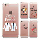 You're my person Grey's Anatomy quote inspired TPU Silicon iPhone Case