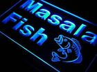 Masala Fish Restaurant Seafood LED Neon Sign 2 sizes 5 colors On/Off Switch