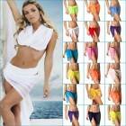 Coqueta Wrap Swimsuit skirt hot Mesh Cover Up Sarong Pareo Swimsuit Bikini beach