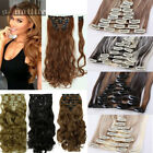 100% Natural 8Pieces Long Clip in Remy Hair Extensions Real Thick for human HG08