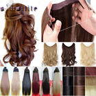 100% Natural Secret Headband Wire in Hair Extension Real as human Hair piece Hn9