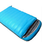 Bright Blue Purple Outdoor Camping Ultralight Double Down Feather Sleeping Bag