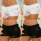 Women's Lace High Waist Casual Knickers Soft Briefs Panties Underwear Plus Size