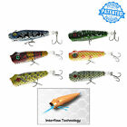 1PC Predator Labs Popper Fishing lure 90mm/3.5in/19g/0.67oz Floating Surface