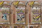 Pokemon Cards - Fossil Blister Booster Pack - Zapdos Lapras Aerodactyl - Sealed