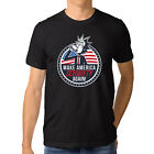 Rick and Morty Shirt Make America Get Schwifty Funny T Shirt fot Mens