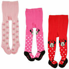 Disney Minnie Mouse Polka Dot Tights, 3 Piece Variety Pack, Baby Girls, 0-24M