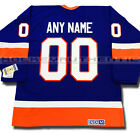 NEW YORK ISLANDERS ANY NAME AND NUMBER CCM VINTAGE JERSEY 1982 STANLEY CUP