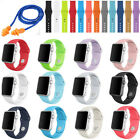 Sports Strap Bracelet Band Silicone Replacement For Apple Watch Iwatch 38 42mm