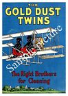 The Gold dust twin : Vintage Magazine advert , Wall art , poster, Reproduction.