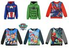 Kids Girls Boys New OFFICIAL Paw Patrol Turtle Neck Long Sleeve Top Ages 3-6