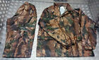 Military Style 100% Waterproof Foul Weather Suit Tree Bark Camo  All Sizes - NEW
