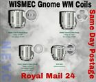 WISMEC GEN3/GNOME COILS WM01/WM02/WM03 /RBA/Glass.SAME DAY Royal Mail24 POSTAGE