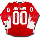 TEAM CANADA ANY NAME AND NUMBER NEW ADIDAS JERSEY 2016 WORLD CUP OF HOCKEY