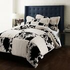 New Printing Pv velvet Quilt Cover Set cow incluidng duvet cover pillowsham
