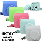 camera carrying case - For Fujifilm Instax Mini 8 9 Film Camera Carrying Bag Shoulder PU Case Cover US