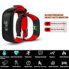 Blood Pressure Heart Rate Monitor Smart Watch Bluetooth 4.0 Bracelet Wristband