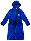Chelsea Dressing Gown Bath Robe Chelsea Soft Fleece with Hood & Pockets