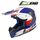 CASQUE CROSS NOEND DEFCON BY OCD PATRIOT BLEU/BLANC/ROUGE TX696 SCOOTER QUAD