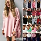 Fashion Women's Sweater Sweatshirt Jumper Top Ladies Long Sleeve T Shirt Blouse