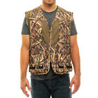Mossy Oak Camo Mens Deluxe Front Loader Hunting Shooting Vest -Turkey- Bird