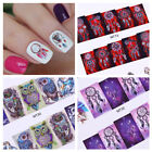 12Patterns/Sheet Water Decals Dream Catcher Christmas Nail Art Transfer Stickers
