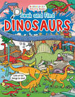 NEW  SEEK and FIND DINOSAURS activity bookwith facts and figures activity