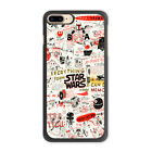 Star Wars Doodle Funny Case For iPhone 7 6 6s Plus 5 5c 4 Galaxy S8 S7 S6 Edge $6.31 CAD