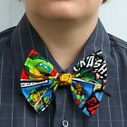 TMNT Bow Tie bowtie Boys Men Dads Prom Tux Groom Ninja Turtle
