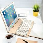 """Backlit Bluetooth Keyboard Smart Case Cover For iPad 9.7"""" 2017 Air 2/1 Mini Pro"""