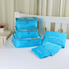 6PCS Storage Bags Waterproof Travel Organizer Pouch Clothes Packing Cube Luggage