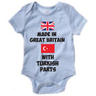 Funny Baby Grow / Vest - MADE IN GREAT BRITAIN WITH TURKISH PARTS - Body Suit