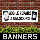 Mobile Phone Repair Unlocking PVC Banner Printing Advertising Signs (BANPN00232)