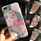 Shockproof Unicorn Silicone Clear Back Case Cover For  Apple iphone 6 6s 7 Plus