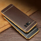 Luxury Ultra-thin PU Leather Back Skin Case Cover For Samsung Galaxy S7 S8 J7 J5